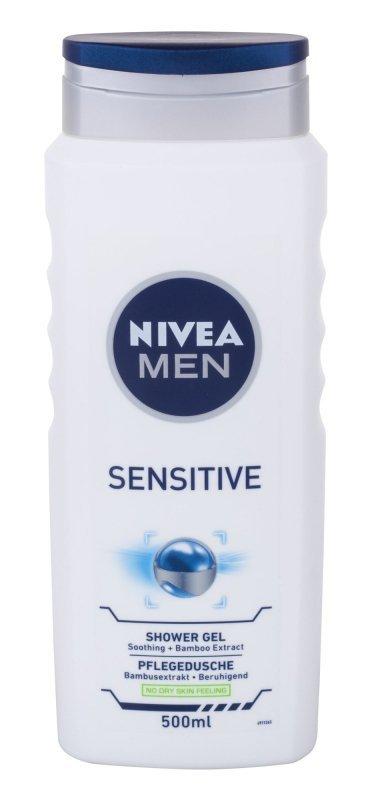 Nivea Men Sensitive (Żel pod prysznic, M, 500ml)