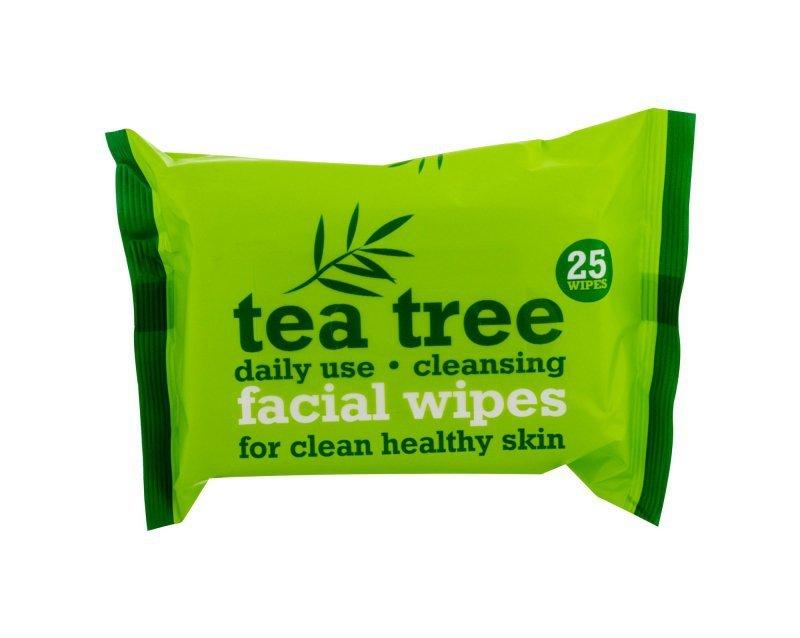 Xpel Tea Tree (Chusteczki oczyszczające, W, 25szt)