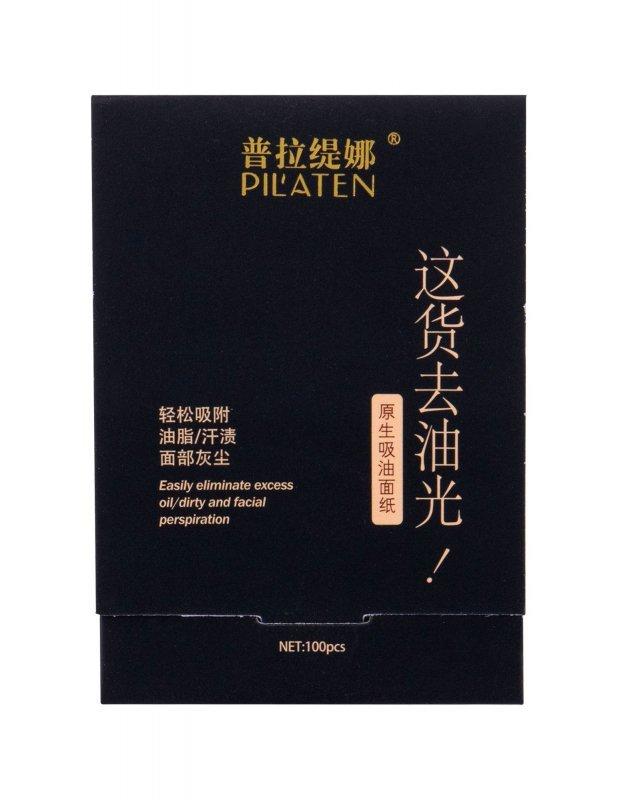 Pilaten Native Blotting Paper (Chusteczki oczyszczające, W, 100szt)
