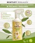 Dziecięcy Spray Dezynfekujący do Mycia Zabawek Bentley Organic, 500ml