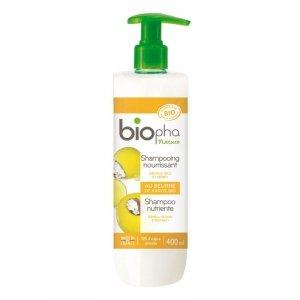 BIOpha, Szampon do suchych i zniszczonych włosów, 400ml