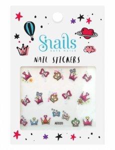 Snails, Naklejki na Paznokcie Perfect Princess dla dziewczynek