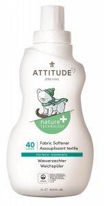 Attitude, Płyn do płukania ubranek dziecięcych Pear Nectar, 40 płukań, 1L
