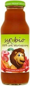 SYMBIO Sok marchew + jabłko + malina bez cukru BIO 300ml