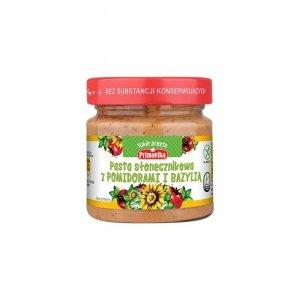 PRIMAVIKA Pasta słonecznikowa z pomidorami i bazylią 160g
