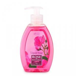 ROSE Mydło w płynie 300ml BIOFRESH