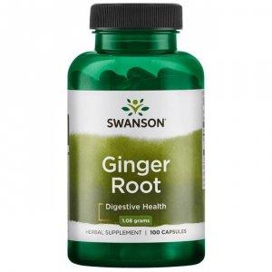 SWANSON Ginger Root 540mg, 100kaps. - Imbir