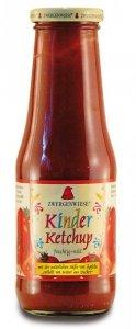 ZWERGENWIESE Ketchup dla dzieci bez cukru bezglutenowy BIO 500ml