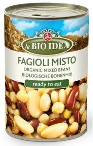 FASOLA MIX BIO 400 g (240 g) (PUSZKA) - LA BIO IDEA