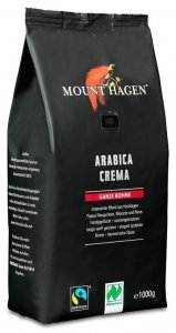 KAWA ZIARNISTA ARABICA CREMA FAIR TRADE BIO 1 kg - MOUNT HAGEN