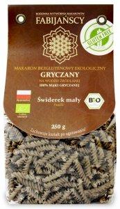 MAKARON (GRYCZANY) ŚWIDEREK FUSILLI BEZGLUTENOWY BIO 250 g - FABIJAŃSCY