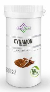 CYNAMON CEJLOŃSKI EKSTRAKT 60 KAPSUŁEK (400 mg) - SOUL FARM