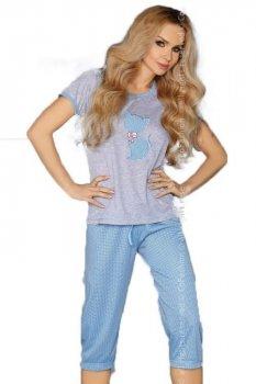 MODEL 718 BLUE piżama