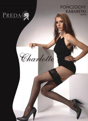 1 Pończochy Kabaretki Charlotte PROMO