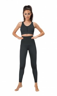 HIGH WAISTED LEGGINGS legginsy z wysokim stanem