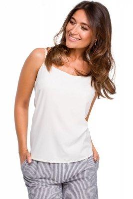 S170 Bluzka na ramiączkach - ecru
