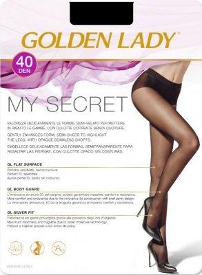 RAJSTOPY GOLDEN LADY MY SECRET 40