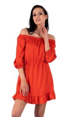 Rimiama Red D142 sukienka