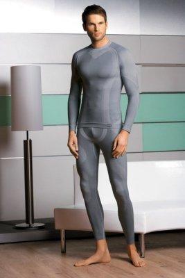 Koszulka termiczna męska wełna 05-21
