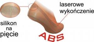 Stopki niewyczuwalne XL 1070 ABS