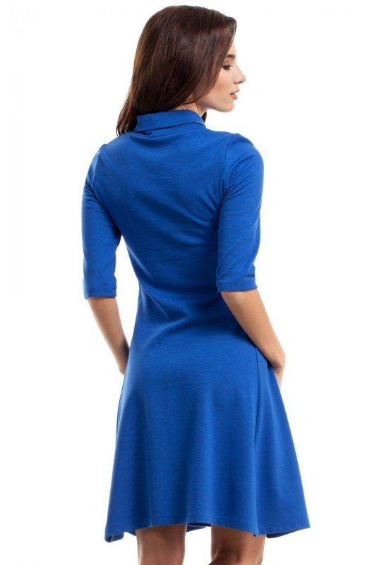 MOE279 sukienka chabrowa