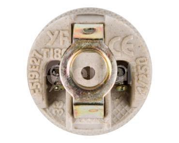 Oprawka E27 ceramiczna HLDR-E27-D 02162