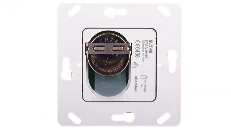 xComfort Bezprzewodowy nadajnik do klawisza poczwórnego (podtynkowy) CTAA-04/04 126031
