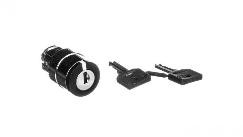 Napęd przełącznika 3 położeniowy czarny z samopowrotem ZB4BG3