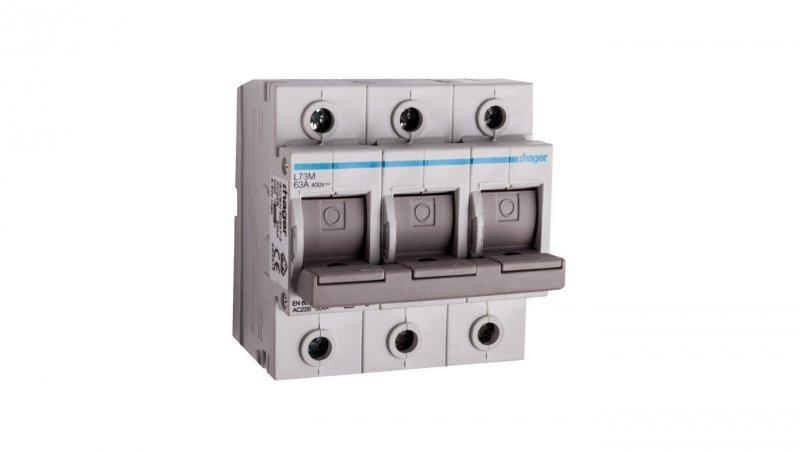 Rozłącznik bezpiecznikowy 3P 63A D02 L73M