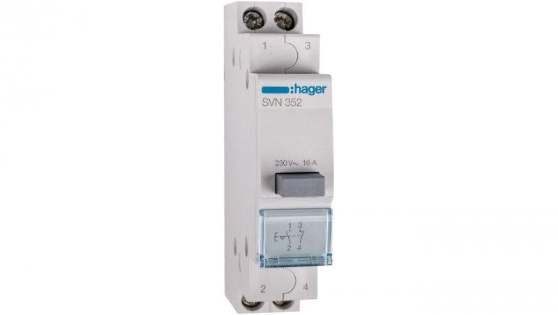Przełącznik przyciskowy 16A 1Z 1R SVN352