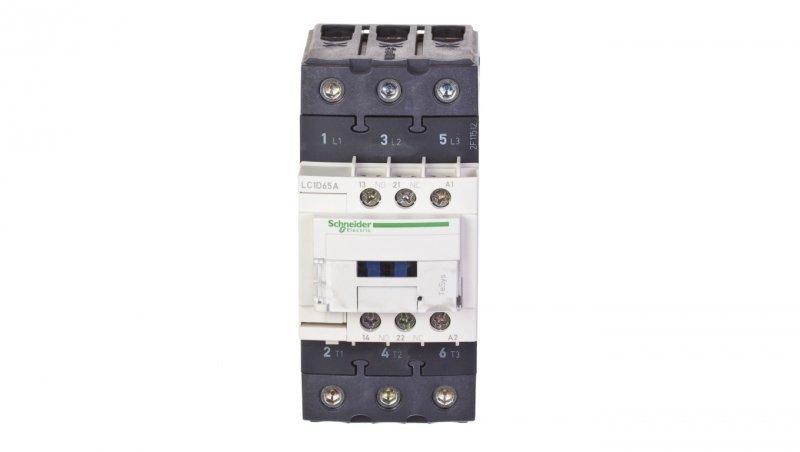 Stycznik mocy 65A 3P 400V AC 1Z 1R (EVK) LC1D65AV7