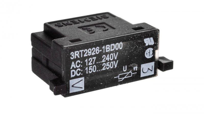 Układ ochronny warystor 127-240V AC, 150-250V DC 3RT2926-1BD00
