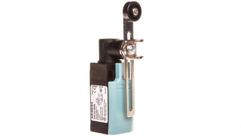 Wyłącznik krańcowy 1R 1Z wolnoprzełączający tworzywo dźwignia obrotowa o regulowanej długości 3SE5232-0BK50