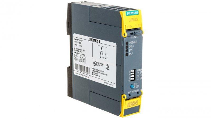 Przekaźnik bezpieczeństwa 3 tranzystorowe 24V DC 3SK1112-1BB40