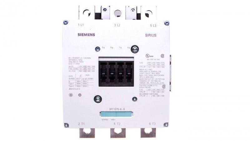 Stycznik mocy 400A 3P 220-240V AC 2Z 2R S12 3RT1075-6AP36