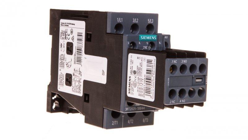 Stycznik mocy 17A 3P 24V DC 2Z 2R S0 3RT2025-1BB44