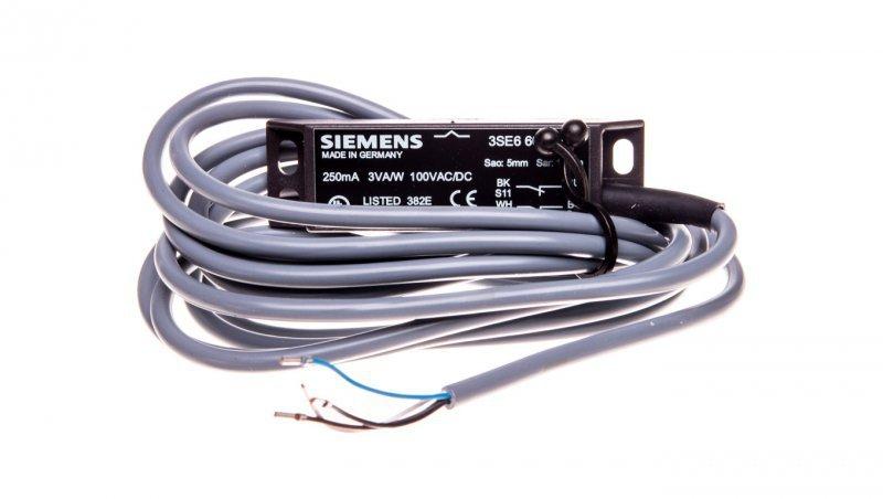 Moduł podstawowy wyłącznika magnetycznego bezpieczeństwa 2R 100V AC/DC przewód 3m bez łącznika magnetycznego 3SE6604-2BA