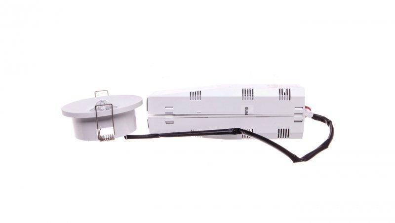 Oprawa awaryjna LED 1W 3h AXEP ECO IP20/20 1W (opt. koryt.) jednozadaniowa biała AXPC/1W/E/3/SE/X/WH