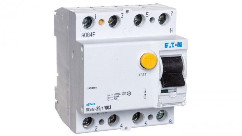Wyłącznik różnicowoprądowy 4P 25A 0,03A typ AC FRCmM-25/4/003 170410
