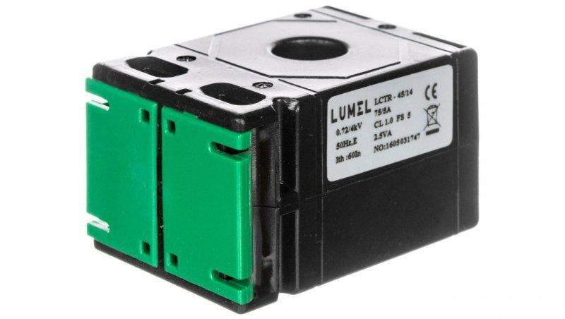 Przekładnik prądowy z otworem na szynę 50/30 (30) 200A/5A klasa 0,5 LCTB 5030300200A55
