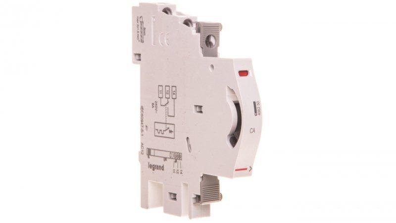 Styk pomocniczy 1Z 1R montaż boczny TX3/DX3 406250