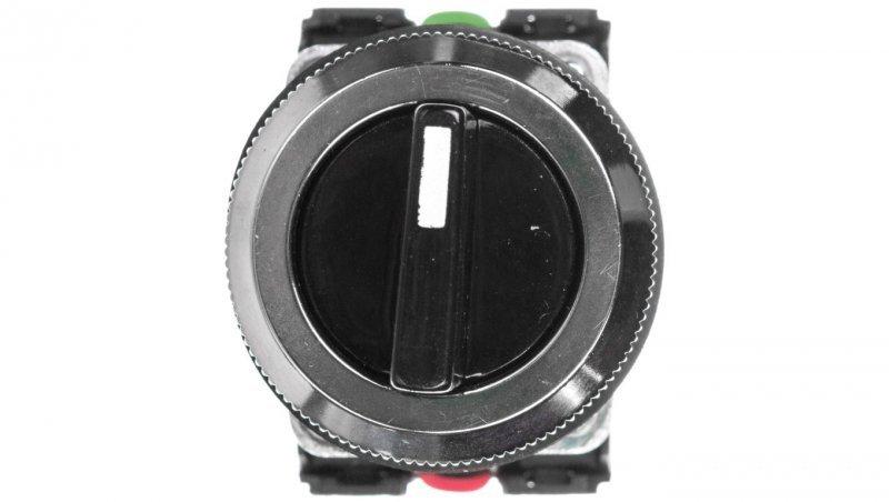 Przycisk sterowniczy pokrętny I-0-II niestabilny 1Z 1R czarny NEF30-TPeXY W0-NEF30-TPE XY S