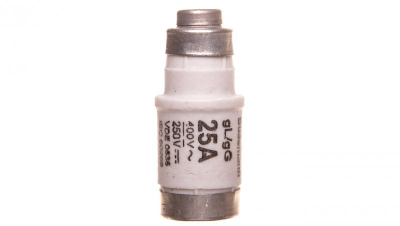 Wkładka bezpiecznikowa D02 25A gL/gG 400V E18 25NZ02