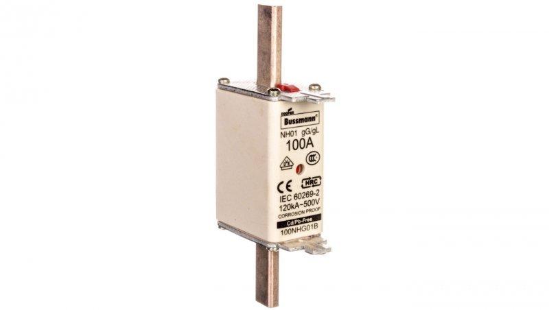 Wkładka bezpiecznikowa NH1 100A gL/gG 500V 100NHG01B