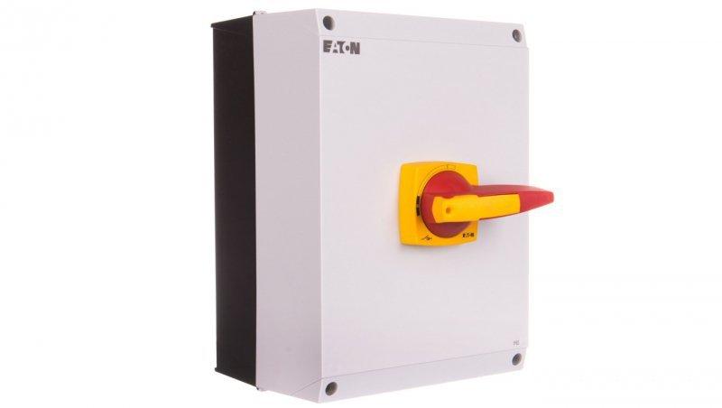 Rozłącznik izolacyjny 3P 125A z blokadą na kłódkę w obudowie IP65 DMM-125/3/I5/P-R 172851
