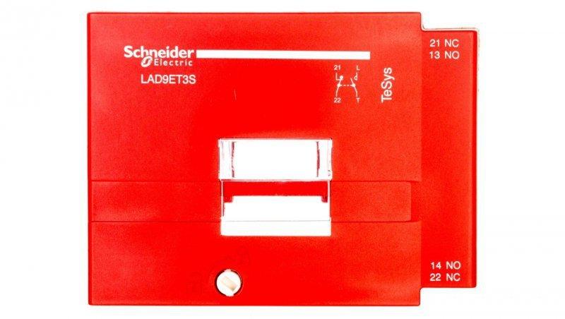 Pokrywa zabezpieczająca do styczników  LC1D80-D95 czerwona PREVENTA LAD9ET3S