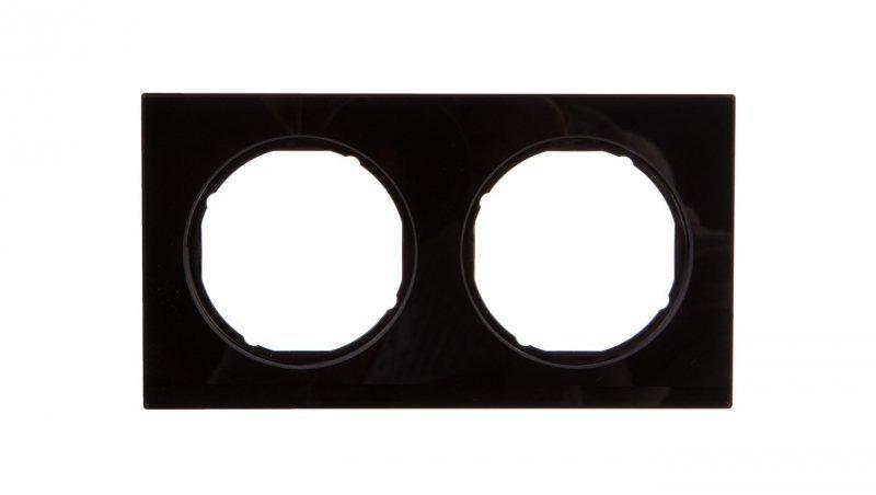 R.3 Ramka podwójna szkło, czarna 10122216