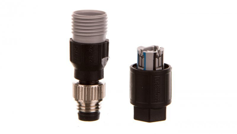 Złącza czujników urządzeń wykonawczych 3P prosty M8 SACC-M 8MS-3QO-0,25-M 1441008