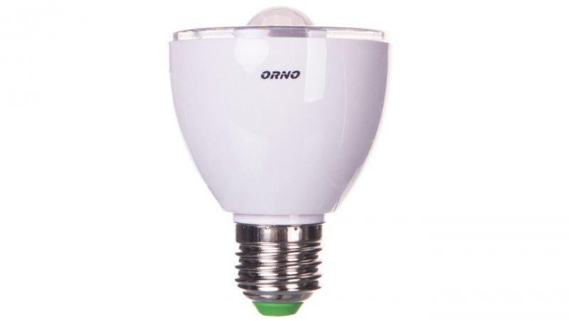 Żarówka RICU LED z czujnikiem ruchu/czujnikiem zmierzchowym 5W E27 230V 3000K 45-60s 3-6m OR-SW-7001LR3