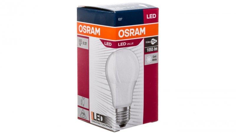 Żarówka LED 11W VALUE CL A75 865 220-240V FR E27 10X1 4052899971035